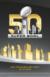 Super Bowl 50- Logo Pôsters