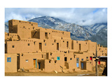Taos Pueblo in New Mexico Usa Posters
