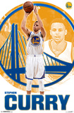 Golden State Warriors- Stephen Curry 2015 アートポスター