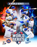 New York Mets Vs. Kansas City Royals 2015 World Series Matchup Composite Photo