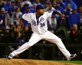 Edinson Volquez Game 1 of the 2015 World Series Photo