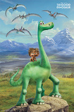 The Good Dinosaur- Faces Posters