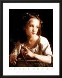 William-Adolphe Bouguereau La Petite Ophelie Art Print Poster Posters