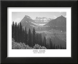 Glacier National Park Poster by Ansel Adams