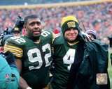 Reggie White & Brett Favre 1995 Photo