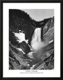 Ansel Adams Yellowstone Falls Park Art Print POSTER Photo