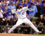 Johnny Cueto Game 2 of the 2015 World Series Photo