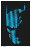 Batman Blacklight Poster Print