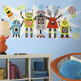 Waverly Robots Graphix Wall Decal