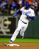 Alcides Escobar Inside the park Home Run Game 1 of the 2015 World Series Photo