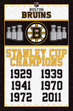 Boston Bruins- Champions Posters