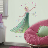 Disney Frozen Fever Elsa Muursticker