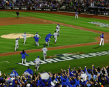The Kansas City Royals celebrate winning Game 5 of the 2015 World Series Photo