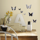 3D Butterflies Wall Decal