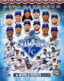 Kansas City Royals 2015 World Series Champions Composite Fotografía