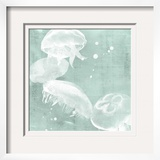 Spa Jellyfish III Framed Giclee Print by Grace Popp