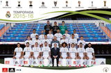 Real Madrid- Team 2015 Print