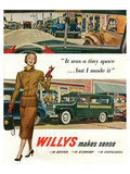 Willys - It Was a Tiny Space… Posters