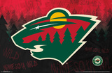 Minnesota Wild- Logo Poster