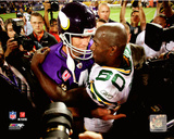 Brett Favre & Donald Driver 2009 Action Photo
