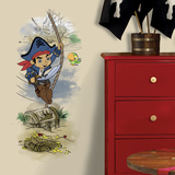 Captain Jake & the Never Land Pirates Treasure Graphic Seinätarra