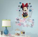 Minnie Floral Graphic Muursticker