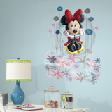 Minnie Floral Graphic Wall Decal