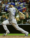 Eric Hosmer Single Game 4 of the 2015 World Series Photo