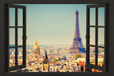 View From A Paris Window Posters
