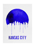 Kansas City Skyline Blue Prints