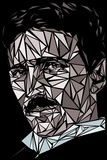 Nikola Tesla Reprodukcje autor Cristian Mielu