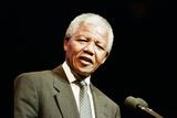 Nelson Mandela in Birmingham, 1993 Photographic Print by Julie Bull