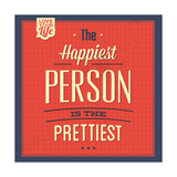 Happy Person Prints by Lorand Okos