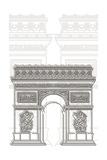 Arc De Triumph Prints by Cristian Mielu