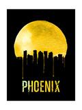 Phoenix Skyline Yellow Prints