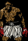 Muhammad Ali Plakaty autor Cristian Mielu