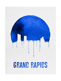 Grand Rapids Skyline Blue Prints