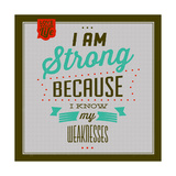 I'm Strong 1 Prints by Lorand Okos
