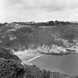 View of Saints Bay on the Island of Guernsey, 1965 Photographic Print by  Staff