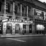 Garrick Theatre 1958 Photographic Print by  Staff