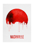 Nashville Skyline Red Posters
