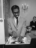 Sammy Davis Jnr. 1962 Photographic Print by  Blandford