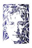 John Lennon Print by Cristian Mielu