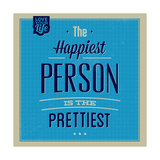 Happiest Person 1 Posters by Lorand Okos