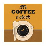 It's Coffee O'Clock Prints by Lorand Okos