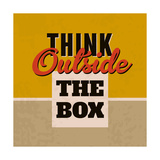 Think Outside the Box 1 Poster by Lorand Okos