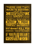 Success Set Yellow Prints by Lorand Okos