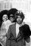 The Supremes, 1973 Fotografisk tryk af Ron Burton