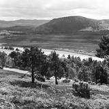View of the Deeside Country, Aberdeenshire. 28/08/1959 Photographic Print by  Staff