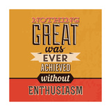Enthusiasm Art by Lorand Okos